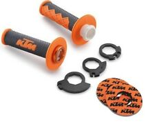 KTM CLOSED END LOCK-ON GRIP SET W/ KTM GRIP DONUTS (78102924000 / U6951716)