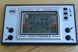 Game&Watch Nintendo Mickey Mouse clone Russian Elektronika