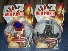 Lot of 2 Iron Man 3 Arc FX Wrist Repulsor PLUS War Machine Battle Charger *NIP*