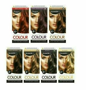 Glamorize For Ladies Advanced Creme Colour 4 Step Permanent Hair Dye Shade