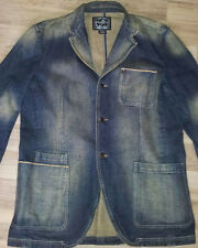 WIE NEU! Phat Farm Jeans Jacket XL Rocawear Karl kani Enyce lrg k1x Denim lrg