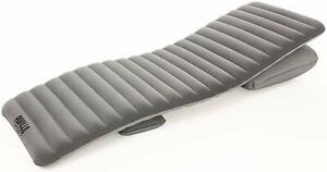 Bestwy Pavillo Flexchoice Inflatable Air Bed Mattress Grey 191 x 70 x 10.5 Inch