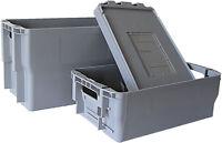 Original Postbehälter Typ 1, Typ 2, Deckel, Postkisten, Briefbehälter -NEUWARE-