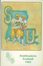 1983 Southeastern SLU football media guide