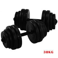 30kg Dumbbell Set Adjustable Weights Dumbbells Biceps Workout Home Gym Fitness