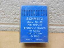 Schmetz Sewing Needles 100 Pk 38:00 100/040 UY 128 GAS UY 128 GS 1280 MY 1044 SY