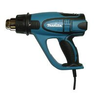 220V 2000W Heat Gun Authentic Makita HG6500 70~650°C 4 Pcs Nozzels LCD Display