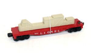 Postwar Lionel 6821 Flatcar With Crates~Mint Unrun!