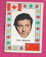RARE 1972-73 OPC TEAM CANADA TONY ESPOSITO  CANADA CUP EX-MT  CARD (INV# J0436)