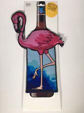 Flamingo: Wine Bottle Cover