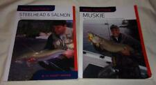 Set of 2 Pro Tactics Muskie/Salmon & Steelhead fishing books