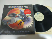 "Europa Wings Of Tomorrow 1984 Epic Spain Edition - LP vinyl 12 "" VG/VG 3T"