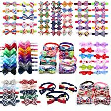 20PCS/Lot Halloween Pet Products  Cute Dog Cat Bow Ties Adjustable Accessories