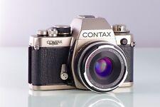 MAGNIFIQUE CLASSIQUE CONTAX S2 60 YEARS+ULTRON 2/40mm ASPHÉRIQUE Avec/