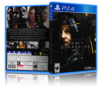 Death Stranding - Replacement PS4 Cover and Case. NO GAME!!