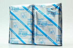 [New Expired 03/2004] 2 packs Fujifilm FP-400B instant B & W film from Japan#040