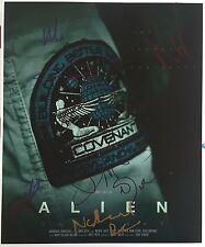 Muti Cast Signed 14x11 Photo - Alien Covenant
