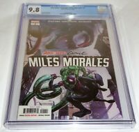 Absolute Carnage: Miles Morales #1 CGC Universal Grade 9.8 Spider-Man Marvel