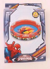 Marvel -Ultimate Spider-Man - Inflatable Ring Pool 90 Cm 36 Inch Diameter Nwt