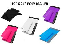 """19"""" x 24"""" SHIPPING ENVELOPES POLY MAILERS SEALING MAILING BAGS PLASTIC COLOUR"""