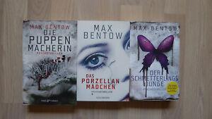MAX BENTOW -- Thriller-Paket - 3 Bücher