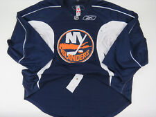 Practice Worn Reebok New York Islanders NHL Pro Stock Hockey Jersey Goalie Cut