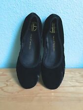 NIB House of Harlow Baron black velvet ballet flats / womens 6.5 NEW