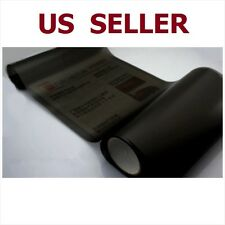 "12"" x 48"" Car Tint Headlight Taillight Fog Light Vinyl Smoke Film Sheet  Black"