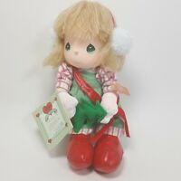 Vintage Precious Moments Friendship Line 1988 Doll Annie Christmas