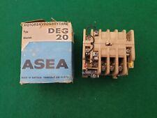ASEA DEG 20 Contactor 240 V Bobina
