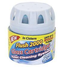 2000 Flush Toilet Semi Permanent Bloo Cistern Block Cleaner Freshener Blue Lav
