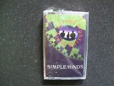 Simple Minds Street Fighting Years SEALED 1989 Cassette Tape New Wave Synth