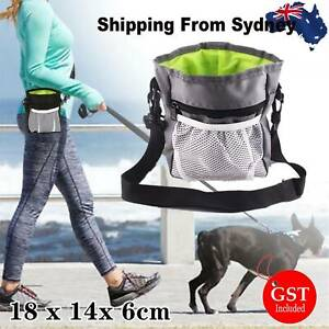 Dog Treat Training Pouch Pet Training Bag Large Capacity Puppy Snack Waist Bags