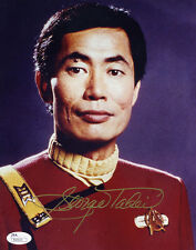 "(Ssg) George Takei Signed 8X10 ""Star Trek"" Photo with a Jsa (James Spence) Coa"