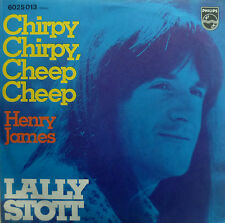 "7"" 1970 GERMAN PRESS RARE VG +++! Lally Stott: chirpy chirpy Cheep Cheep"