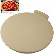 "The Pizza Pans & Stones Ultimate 16"" Round Bread For Cooking Baking Oven Grill."