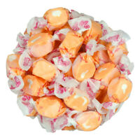 GOURMET TANGERINE Salt Water Taffy Candy TAFFY TOWN 1/4 LB  to 10 LB BAG