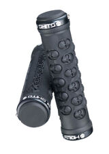 New Pair of DA BOMB HOLY SHXT 2.0 Grips - Black , Double Lock-On