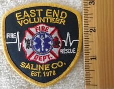 EAST END VOLUNTEER FIRE DEPARTMENT PATCH (FIRE, STATE POLICE, EMS, SHERIFF)