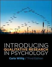 Introducing Qualitative Research in Psychology: Adventures in Theory and Method…