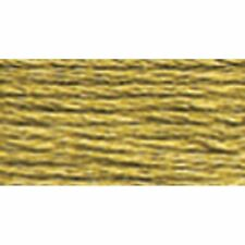 DMC 117-371 Mouline Stranded Cotton Six-Strand Embroidery Floss Thread, Mustar..