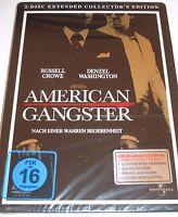 American Gangster - 2 DVDs/NEU/OVP/Thriller/Russell Crowe/Washington/Steelbook
