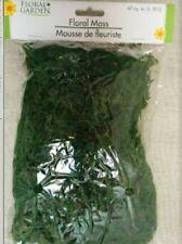 3~Green Floral Moss Bags Filler For Floral Garden & Fairy Gardens Terrariums