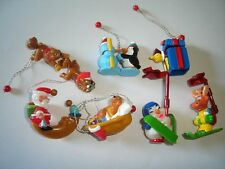 CHRISTMAS TOYS & FIGURINES PENDANTS 2004 KINDER SURPRISE FIGURES XMAS DECORATION