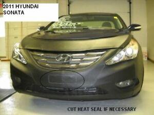 Lebra Front End Mask Cover Bra Fits 2011 2012 2013 Hyundai Sonata Except Hybrid
