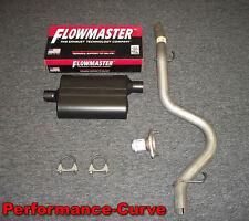 01 - 06 Jeep Wrangler Exhaust w/ Flowmaster Muffler