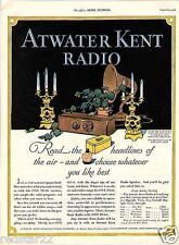 Atwater Kent Radio Schematic CD HUGE 1919 to 1934