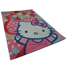 Tapis Hello Kitty Vasilas meubles chambre à coucher 80x120 cm Coul. rose H525