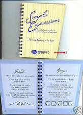 Creative Memories Simple Expressions Book