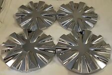 Mazzi Wheels Chrome Custom Wheel Center Cap Caps Set of 4 # C10340 NEW!